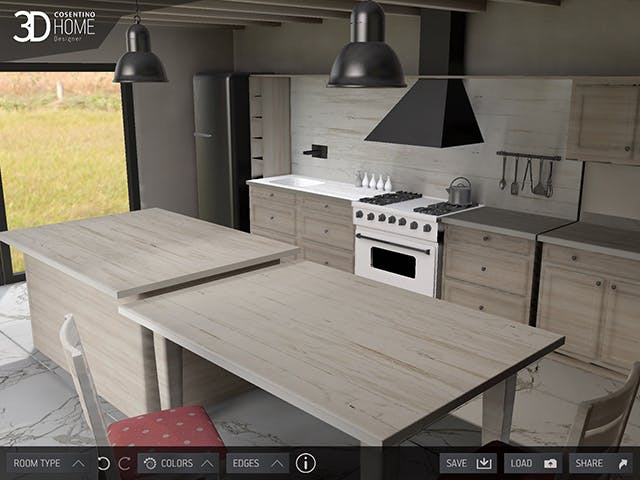 App Cosentino 3D Home Design