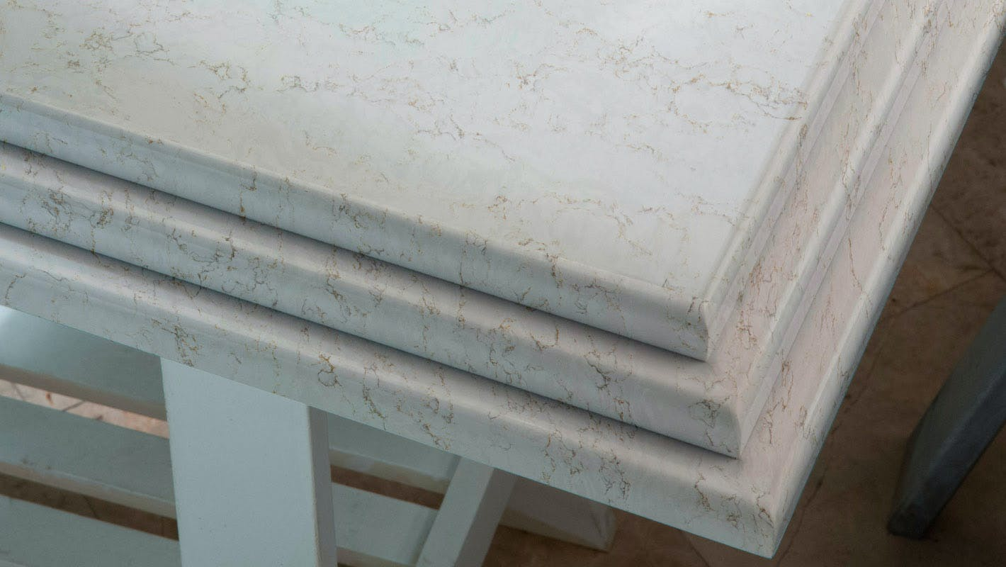 Silestone Countertop Edges Available