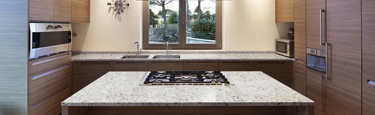 Silestone quartz vs granite countertops for Silestone vs granite
